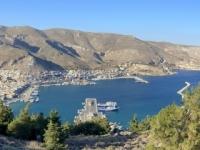 2021 05 29 Kalymnos Blick auf Pothia mit Bucht