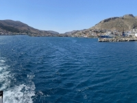 2021 05 31 Kalymnos Abfahrt der Fähre von Kalymnos nach Kos