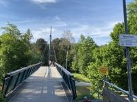 Brücke Blaues Eisen über die Vöckla