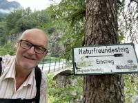 Beginn Einstieg Naturfreundesteig 05 50 Uhr