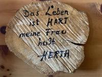 Spruch 2 in der Gmundner Hütte