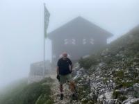 Wir erreichen die Gmundner Hütte