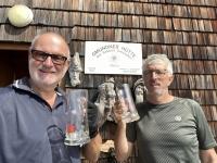 Getränk auf der Gmundner Hütte