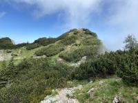 Neue Aussichtswarte Stangenkogel mit Bank