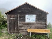 Pflanzenbiologische Kläranlage der Hütte