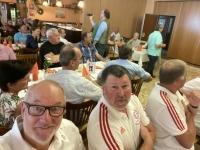 20 Mitglieder vom FC Bayern Fanclub Natternbch