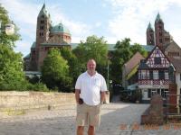 2008 08 21 Speyer Dom Deutschland Urlaub mit Ingrid