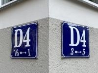2021 08 05 Mannheim interessante Strasseneinteilung