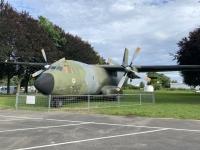 2021 08 05 Speyer Technik Museum von außen  Transall C 160 der deutschen Luftwaffe