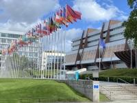 2021 08 06 Strassburg Europarat mit 47 Mitgliedsstaaten