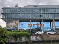 2021 08 06 Strassburg Kultursender für Deutschland und Frankreich vom Boot aus