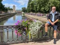 2021 08 06 Strassburg Petit France Brücke über die Ill