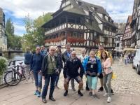 2021 08 06 Strassburg Petit France Gruppenfoto