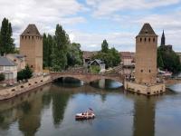 2021 08 06 Strassburg Petit France von der Terrrasse aus