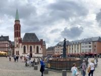 2021 08 04 Frankfurt Altstadt mit Römer