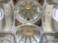 2021 08 05 Mannheim Jesuitenkirche mit tollem Gewölbe