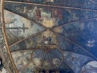 2021 08 05 Speyer Dreifaltigkeitskirche Gewölbe mit Altar