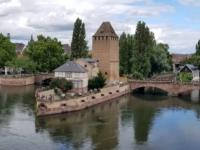 2021 08 06 Strassburg Petit France von der Terrrasse