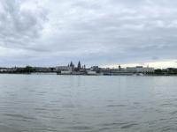 2021 08 07 Mainz vom Rheinufer gegenüber