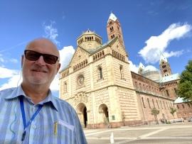2021 08 05 Speyer Dom größte erhaltene romanische Kirche der Welt