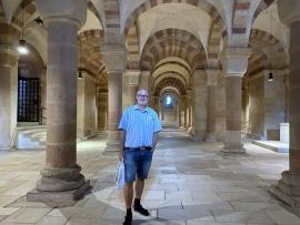 2021 08 05 Speyer Dom größte romanische Hallenkrypta der Welt