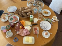 Frühstück bei Joe Gokl in Traun Oedt