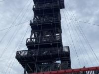 Zum letzten Mal heuer der Turm