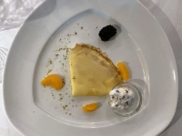 Dessert Crepes Suzette a l Orange
