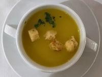 Suppe Gelbe Erbsensuppe