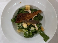 VS Caesar Salat mit Sardellen