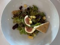 VS Salat Tossed Mesclun Salat und Himbeer Vinaigrette