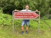 2021 08 19 Fussweg vom Parkplatz zur Burg Eltz