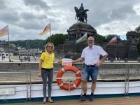 2021 08 19 Koblenz Kaiser Wilhelm Denkmal am Deutschen Eck