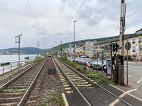 2021 08 19 Rüdesheim 200 Züge vom Gotthart Tunnel fahren hier täglich durch