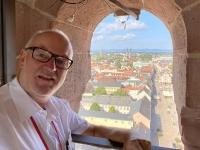 2021 08 20 Speyer Dom Turm in 60 Meter Höhe