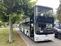 2021 08 20 Worms Fahrt mit Stockbus in die Innenstadt