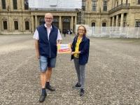 2021 08 22 Würzburg Residenz Reisewelt on Tour mit Kollegin Dagmar