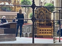 2021 08 23 Bamberg Dom Grab Papst Klemens II