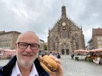 2021 08 24 Nürnberg Nürnberger Bratwürstel am Marktplatz