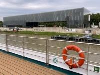 2021 08 26 Linz Lentos vom Schiff aus