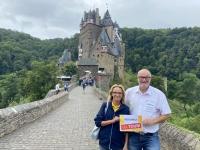 2021 08 19 Zugang zur Burg Eltz Reisewelt on Tour
