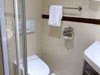 Einzelkabine 112 auf dem Haydndeck Bad und WC
