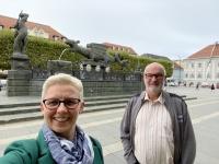 Besuch Klagenfurt Lindwurm