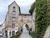 Aufgang zum Schloss Lamberg