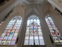 Bemalte Glasfenster
