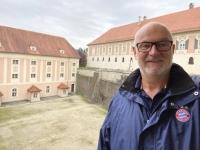 Burggraben Schloss Lamberg