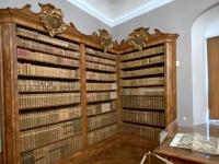 Prunkvolle Bibliothek
