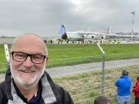 2021 10 05 Landung des größten Flugzeuges der Welt der Antonov 225 in Linz