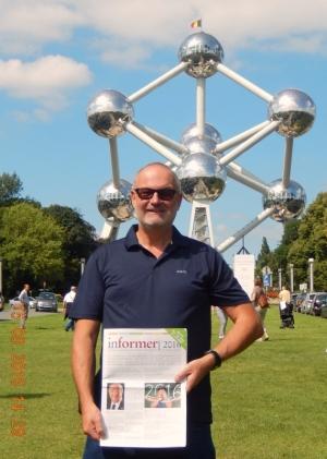 2016 08 15 Belgien Brüssel Atomium