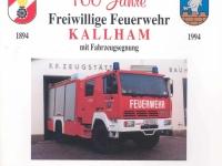 1994 Festschrift 100 Jahre FF Kallham